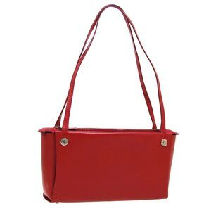 HERMES IN THE BOX Hand Bag □G 29 E Purse Red Box C
